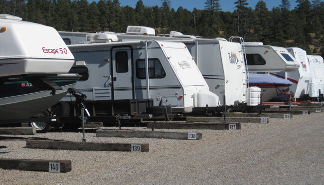 Store RV's of all Sizes in Flagstaff.