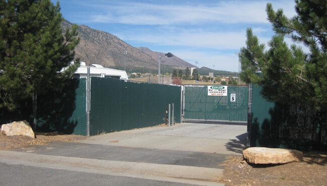 We offer a safe and secure location for your Boat or RV in Flagstaff.