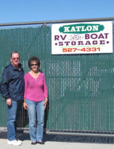 Katlon RV & Boat Storage was founded in 1994 by Lon and Kathy Franklin.